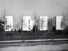 1939 Quartiere Filzi visto da v.le Argonne
