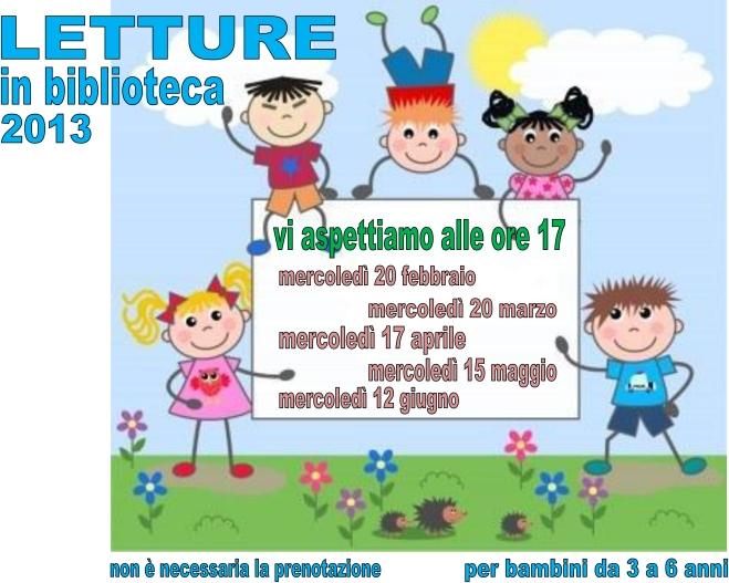 Volantino letture 2013