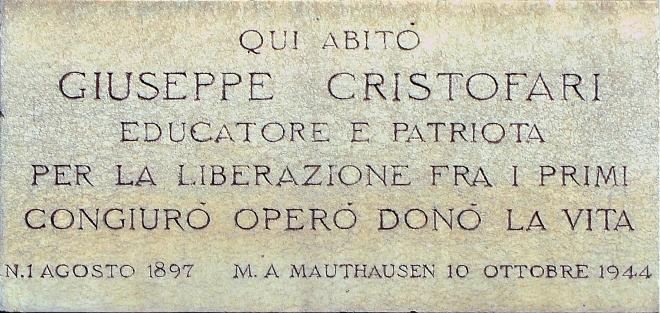 CRISTOFARI GIUSEPPE