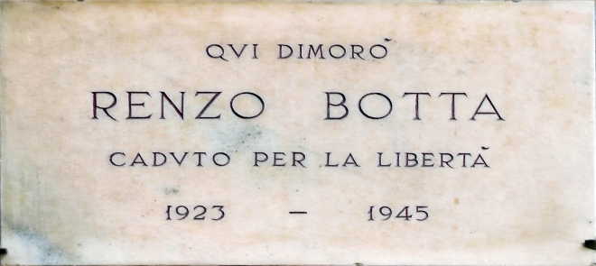 BOTTA RENZO viale Montenero 42