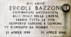 BAZZONI ERCOLE via Porpora 43