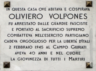 VOLPONES OLIVIERO via Porpora 161