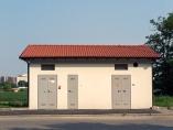 La cabina senza più le recinzini