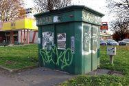WC attualmente in disuso in via Rombon