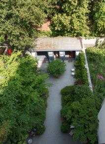 Il giardino della casa