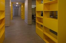 Navata centrale del salone studio/refettorio