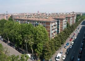 Le case costruite da Angelo Rizzoli per i suoi operai e impiegati