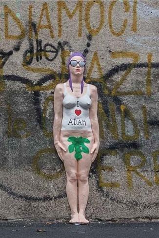 2015 Discinta si dichiara ad Adamo in via Ferrante Aporti