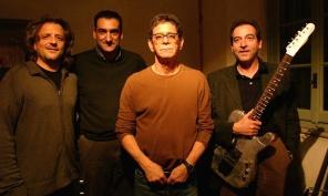 Lou Reed in villa Credits: Courtesy of Guido Harari