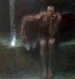 Lucifero di Franz Von Stuck