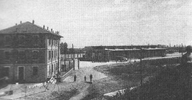 anni-30-ritrae-lo-scalo-merci-di-via-saccardo-realizzato-insieme-con-le-nuove-stazione-centrale-lambrate-e-il-nuovo-anello-ferroviario-la-nuova-stazione-centrale-qu