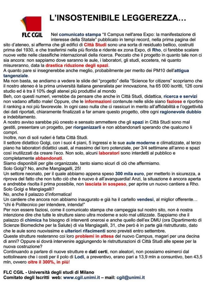 flc-cgil-universita-degli-studi-di-milano