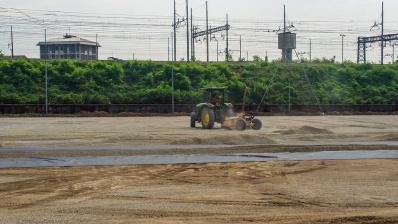 E livellamento del terreno