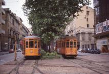 1977-09, Milano, Piazza Tricolore (Viale Piave) _ Photo André Knoerr, Genève