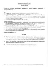 Delibera di giunta municipale n. 64 seduta del 5-2