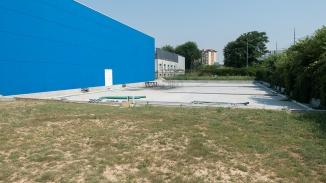 Il retro delle palestre con sorpresa: 3 campi di beach-volley