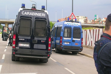 Via Rubattino prima dell'ingreso della INNSE