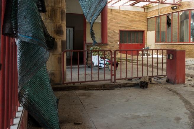 Sdraio a disposizione del proprietario dei cani che ha la possibilità di entrare insieme ai suoi animali in azienda, e ripararsi.