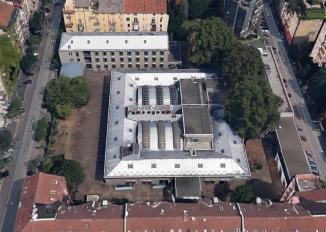 la ex sede del CNR vista da via Casnedi