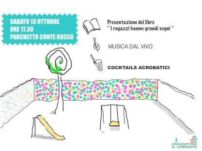 """ALLE 17.30, al pacchetto di Via Conte Rosso, Francesco Casolo presenta in anteprima milanese ai vicini lambratesi il suo libro """"I RAGAZZI HANNO GRANDI SOGNI"""" (Feltrinelli). Sarà presente anche Ali Ehsani (coautore e protagonista del libro). Segue APERITIVO SOCIAL con """"Cocktails acrobatici"""" di Stefano e musica live."""