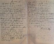 04 Lettera manoscritta