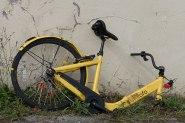 Una bicicletta disarticolata