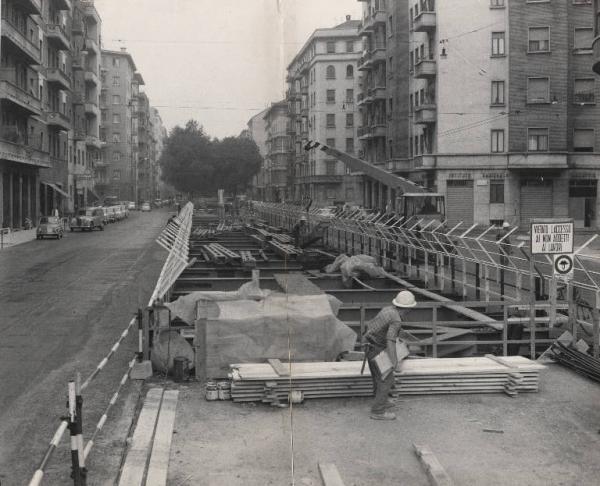 Fotografo Cossu, Sergio / Publifoto via Pacini ottobre 1965