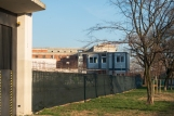 Via Cima gli alberi sono su suolo pubblico oltre la recinzione vi è una struttura adibita alle maestraze.