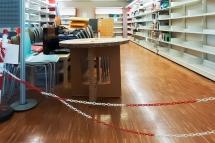 Uno spazio della biblioteca